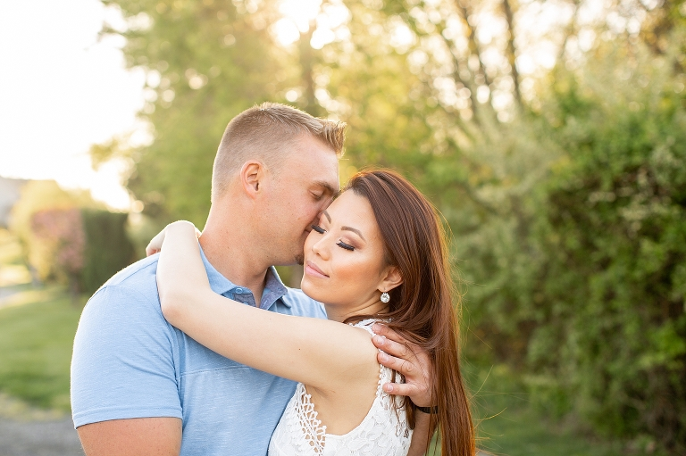 New Jersey Wedding Photographer - Laurita Winery Engagement Session - Lyndsay Curtis Photography