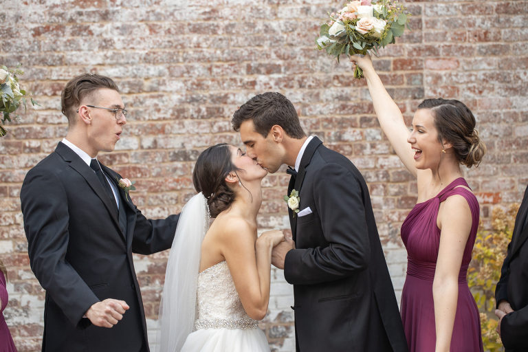 Wedding Party photo by Charlottesville Virginia Wedding Photographer Lyndsay Curtis Photography
